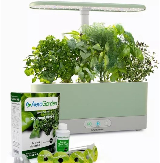 Price drop! AeroGarden Harvest Slim with gourmet herbs seed kit for $64