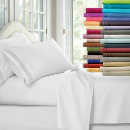 1800 thread count 4-piece deep pocket sheet sets from $12, free shipping