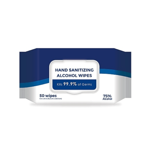 50-pack hand-sanitizing alcohol wipes for $3, free shipping