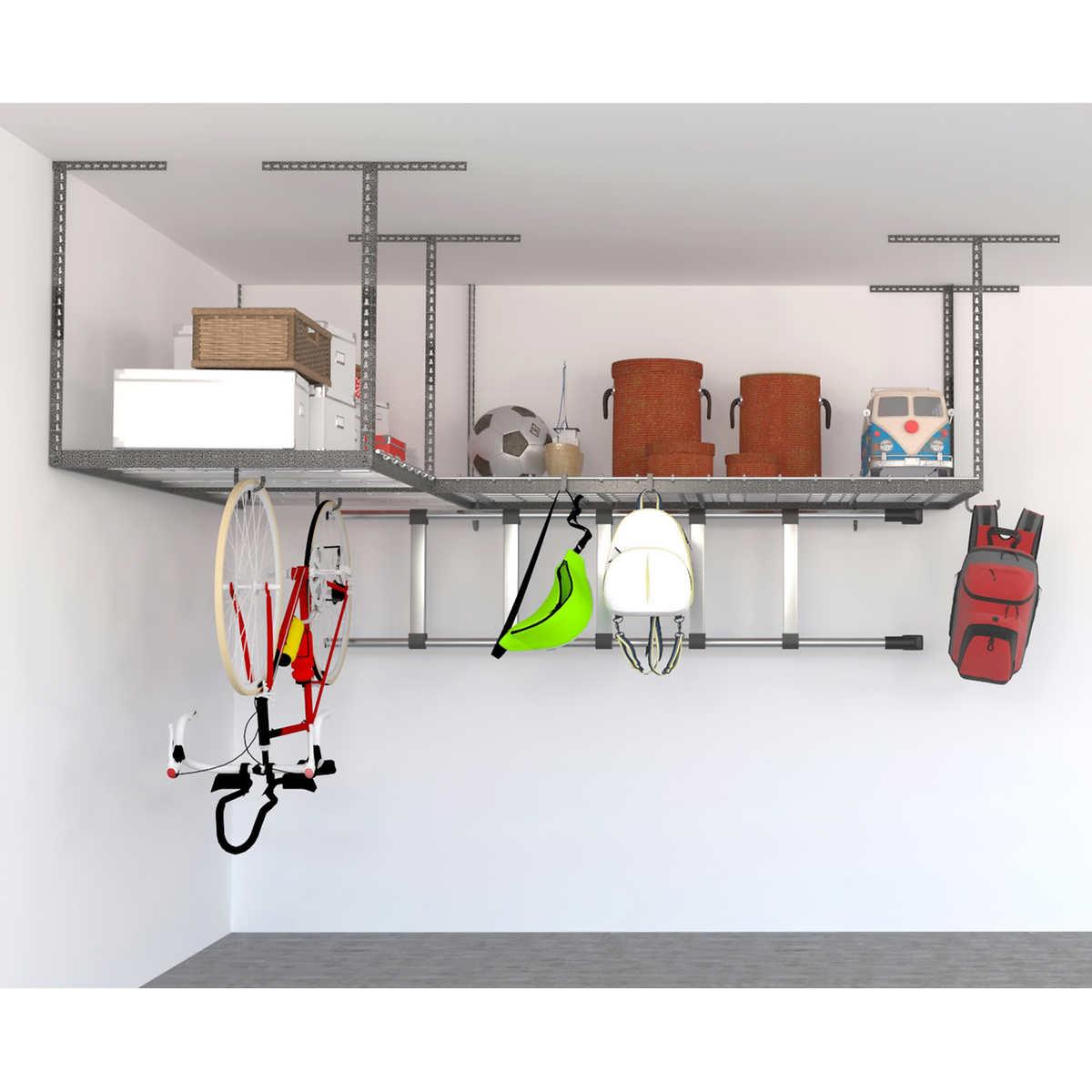 2 rack saferacks overhead garage