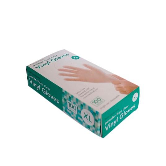 100-count Basic Equipment vinyl disposable gloves for $7