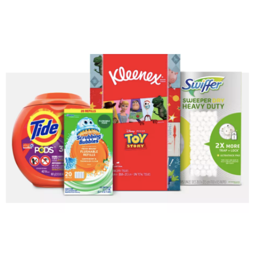Get a $10 gift card with $40 of household essentials at Target