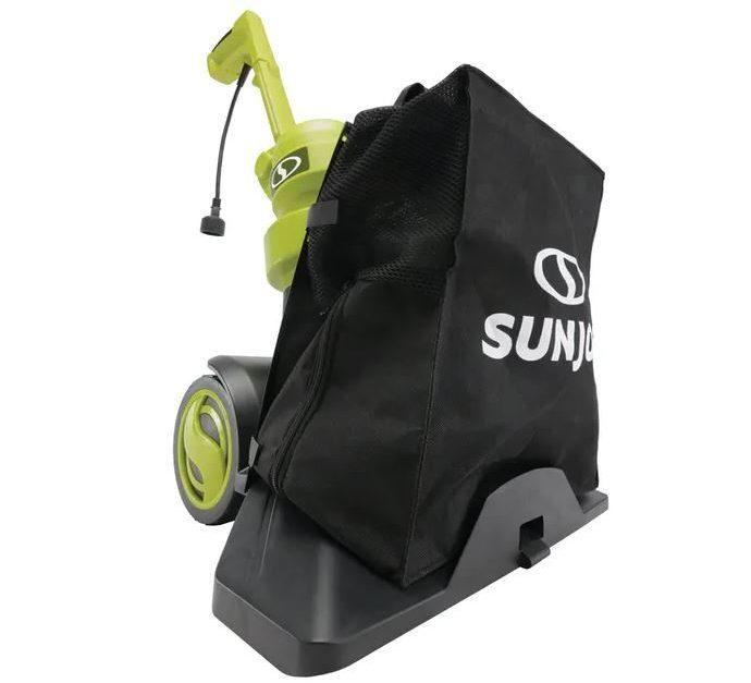 Sun Joe electric 3-in-1 walk behind outdoor vacuum/blower/mulcher for $80