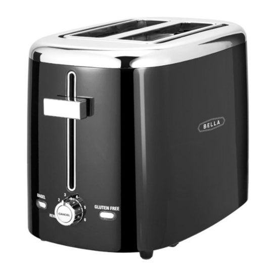 Today only: Bella 2-slice extra-wide slot toaster for $10