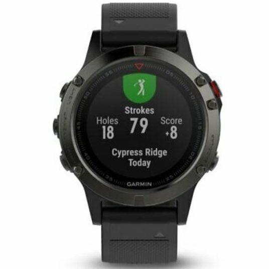 Refurbished Garmin fenix 5 multisport GPS watch for $200
