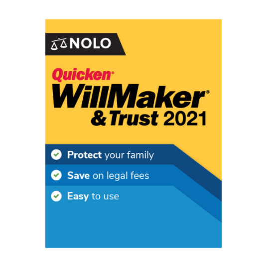 Quicken WillMaker & Trust is 50% off at Nolo