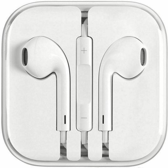 Apple EarPods with 3.5mm headphone plug for $8