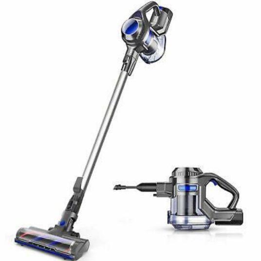 Moosoo XL-618 cordless vacuum for $80