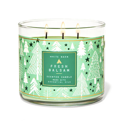 Bath & Body Works 3-wick candles are buy one, get one FREE