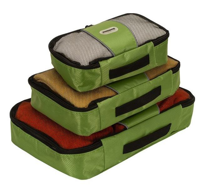 3-pack Rockland Luggage packing cubes for $20