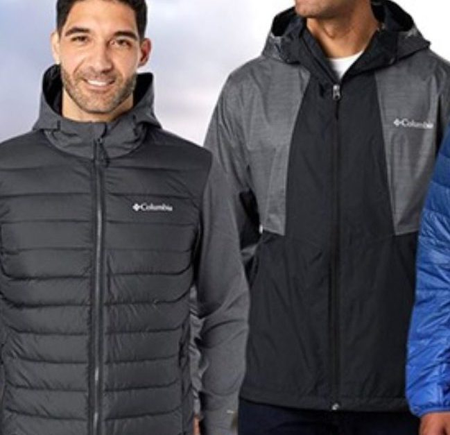 Today only: Columbia men's jackets from $24