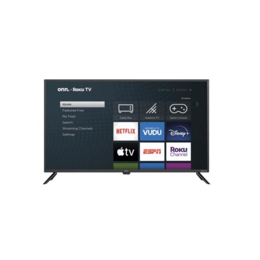 onn. 42″ UHD Roku TV for $88