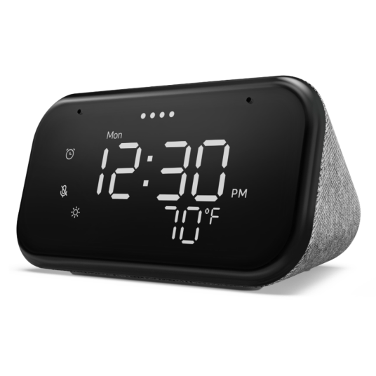 Lenovo Smart Clock Essential with voice control for $25