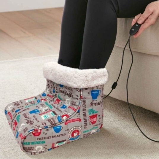 Today only: Electric blankets and foot warmers from $19