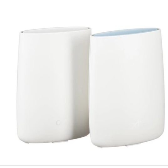 Today only: Netgear Orbi wireless router AC3000 tri-band Wi-Fi system for $260