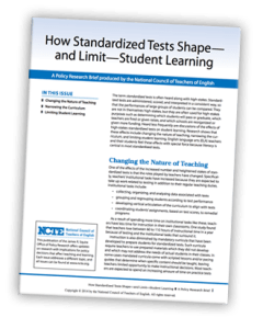 clarke community schools standardized testing research
