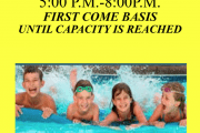 free swimming night in osceola