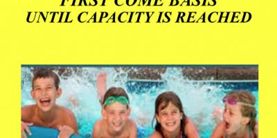 free swimming night in osceola