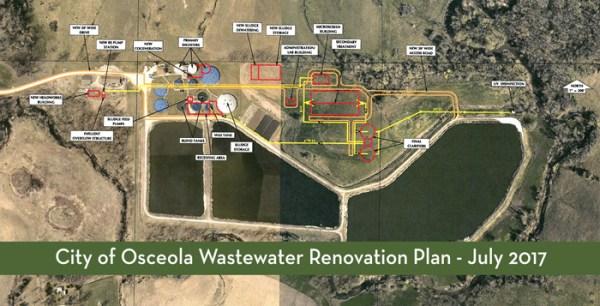 osceola wastewater plant