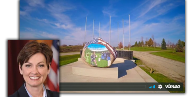 governor kim reynolds clarke county freedom rock