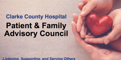Clarke County Hospital Patient and Family Advisory Council