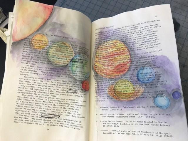 Artsy Altered Books