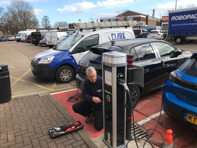 Charge point install