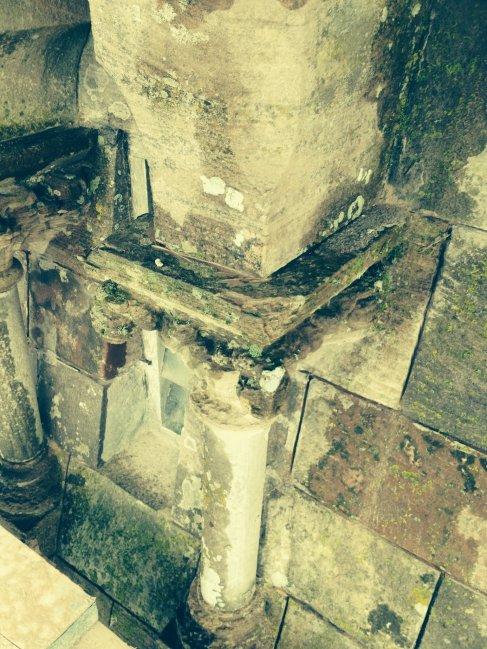 Before restoration, St Joseph's Church, Ballycranbeg