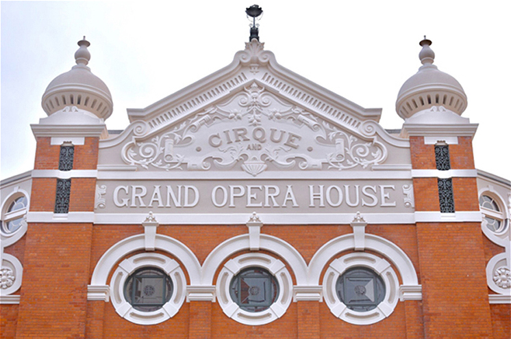 Grand Opera House Belfast after restoration