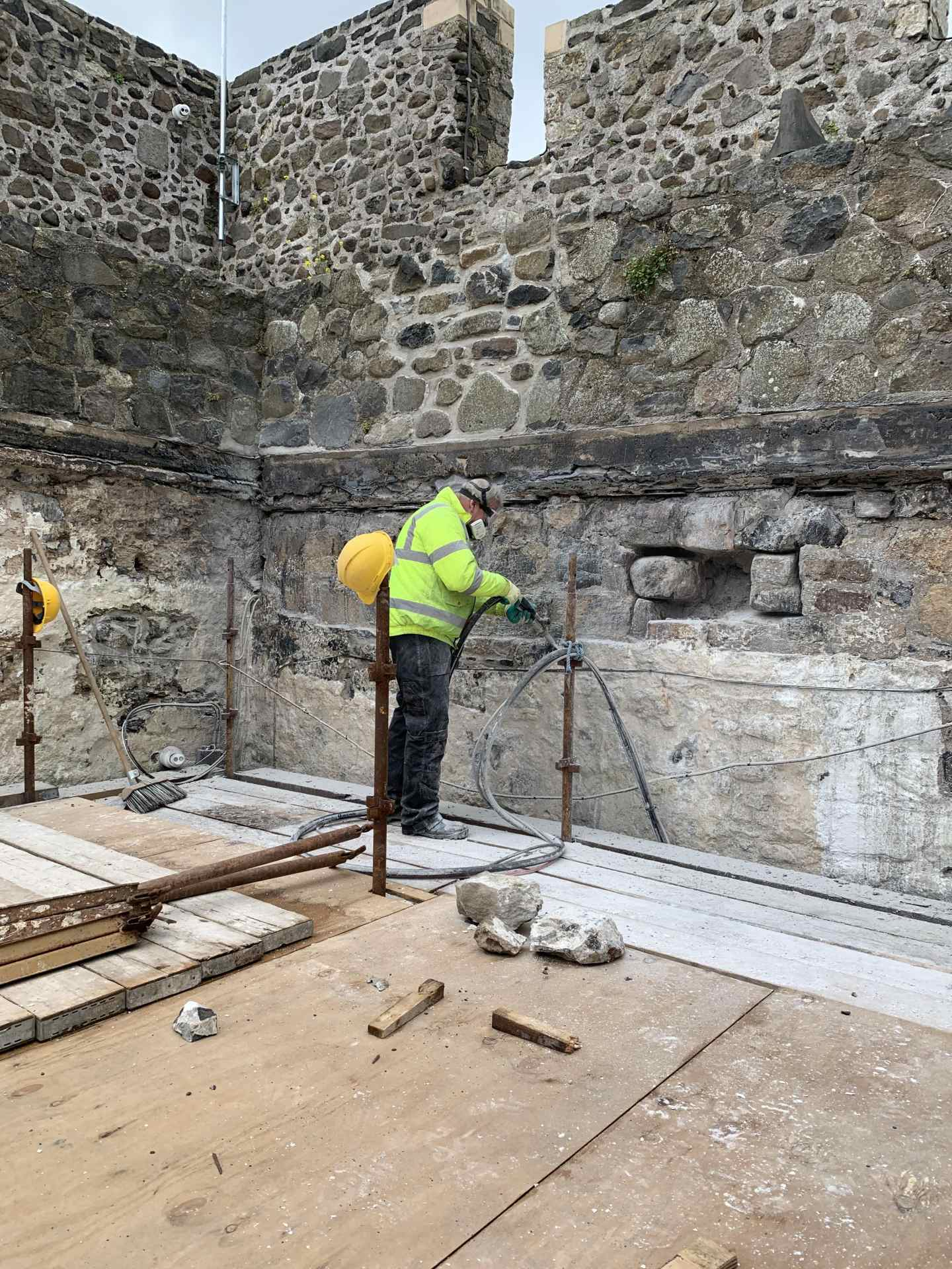 Restoration of Carrickfergus Castle