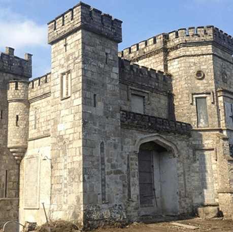 Restoration of Killeavy Castle Co Armagh