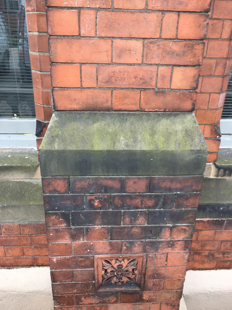 Stone Cleaning St Marys University College Belfast