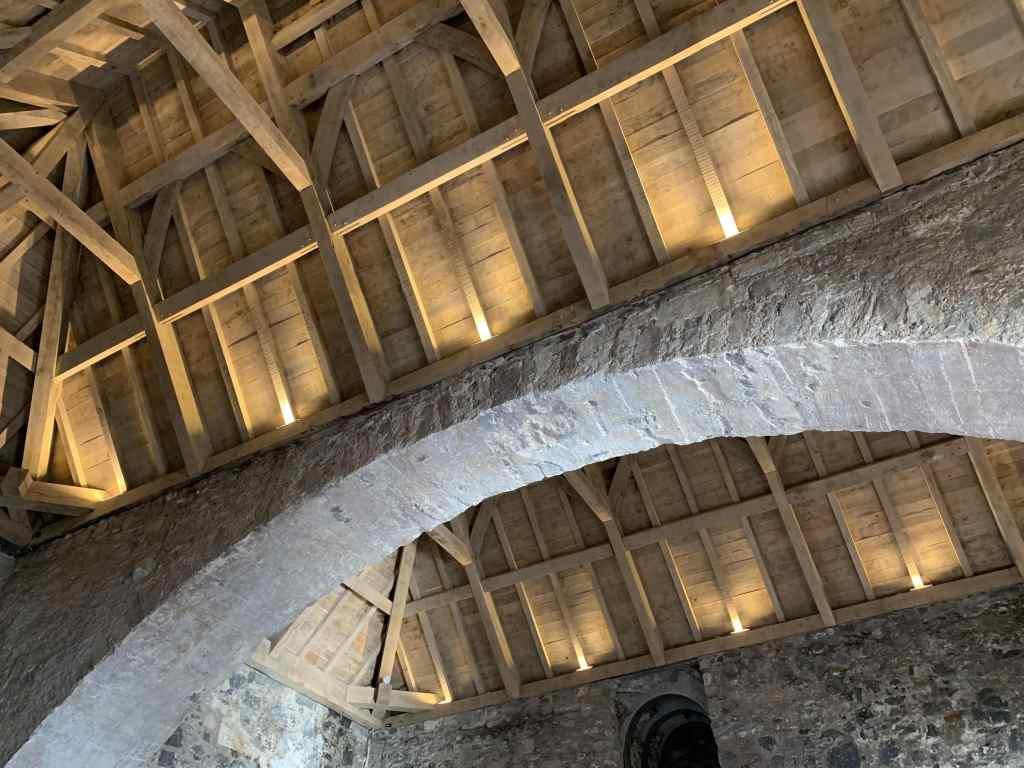 Restoration of Carrickfergus Castle