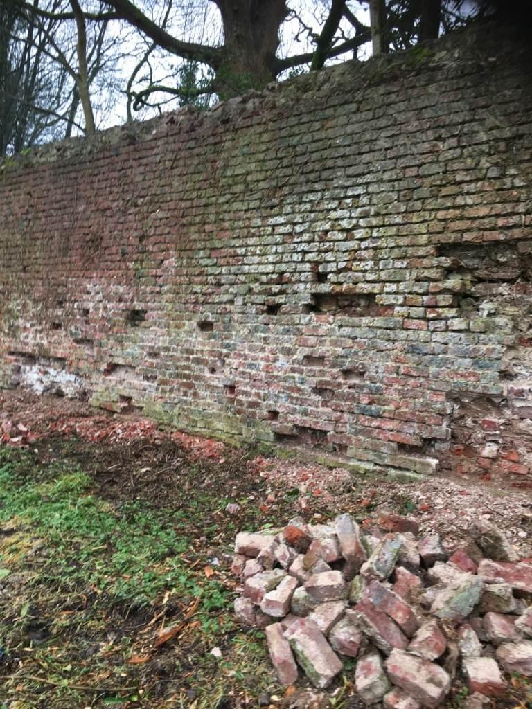 Armagh Rugby Club Wall Restoration