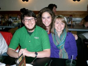 Baby Sister {middle} Graduates from SFA, 2010