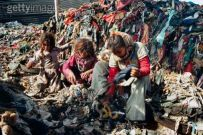Getty Images - Zabaleen in Cairo Egypt - women in garbage dumps