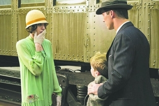 "Angelina Jolie discovers she's being given the wrong boy in ""Changeling."""