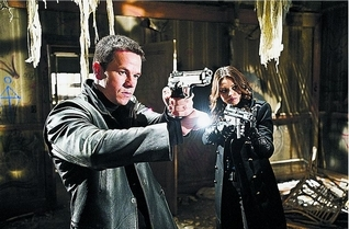"Mark Wahlberg and Mila Kunis star in ""Max Payne."" Photo courtesy of 20th Century Fox."