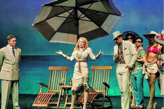 """A scene from """"Dirty Rotten Scoundrels."""""""