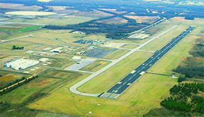 Clarksdale Coahoma County non-commercial airport, Fletcher Field.