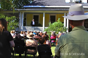 A porch play at the annual Tennessee Williams Festival (photo by the Delta Bohemian).