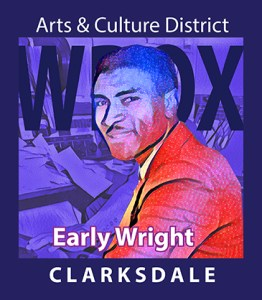 Clarksdale radio broadcaster, Early Wright.