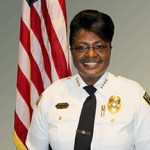 Clarksdale Chief of Police, Sandra Williams.
