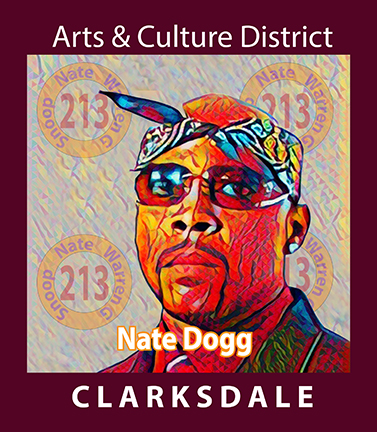 Clarksdale born hip hop pioneer, Nate Dogg.