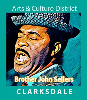 Clarksdale gospel and folk singer, Brother John Sellers.