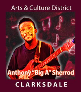 """Current Clarksdale blues master and showman, Anthony """"Big A"""" Sherrod."""