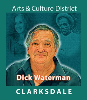 Manager, promoter, career developer, acclaimed blues photographer, Dick Waterman.