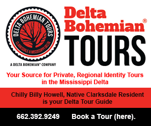 Delta Bohemian Tours in Clarksdale, Mississippi.