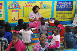 Head Start in education action.