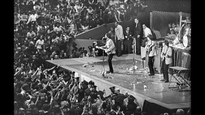 The Beatles at Candlestick Park.